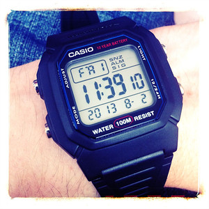 Love my new retro Casio.