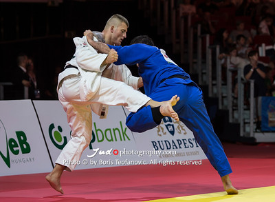 2017 Suzuki World Judo Championships Budapest Day6, KORREL Michael, WOLF Aaron_BT_NIKON D4_20170902__D4B7739