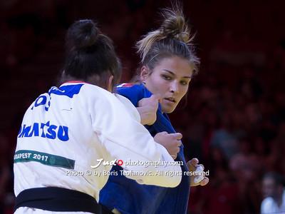 2017 Suzuki World Judo Championships Budapest Day3, Hedvig Karakas, HUN, KOS, Nora Gjakova_BT_NIKON D4_20170830__D4B2509
