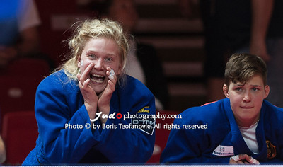 2017 Suzuki World Judo Championships Budapest Day7 Teams, Nieke Nordmeyer, Richard Trautmann, Szaundra Diedrich_BT_NIKON D3_20170903__D3C5627