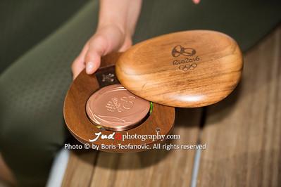 Bronze medal, BuLi Frauen Großhadern Leipzig 2016 Laura Rio Medaille, Laura Vargas Koch_BT_NIKON D4_20160917__D4B0265