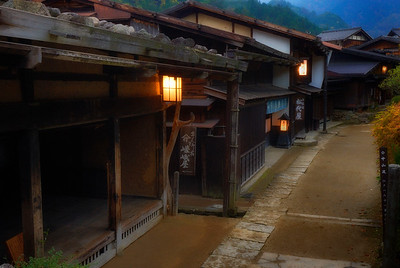 Tsumago-Juku, Evening