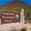 Saguaro National Park West entrance
