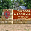 Theodore Roosevelt National Park entrance