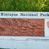 Biscayne National Park entrance