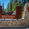 Kings Canyon National Park entrance