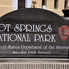 Hot Springs National Park entrance