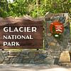 Glacier National Park entrance