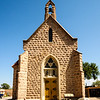 Shrine of Our Lady of Lourdes , San Juan Parish, Ohkay Owingeh Pueblo, New Mexico