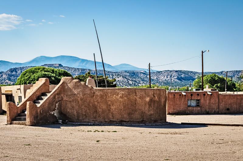 Kiva, San Ildefonso Pueblo, New Mexico