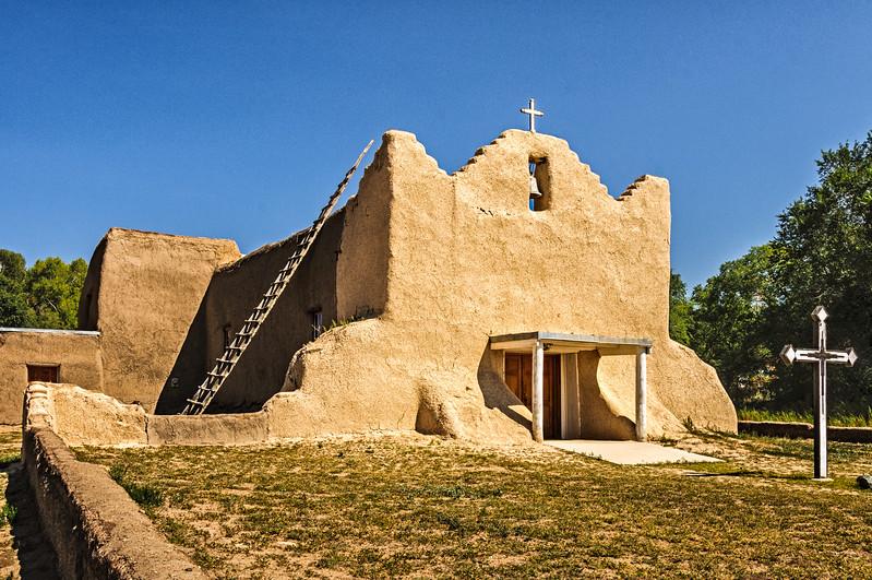 San Lorenzo de Picuris Mission Church, Picuris Pueblo, New Mexico