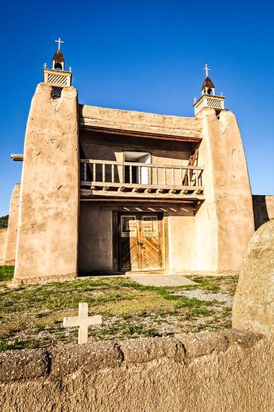 San Jose de Gracia Church, Las Trampas, New Mexico