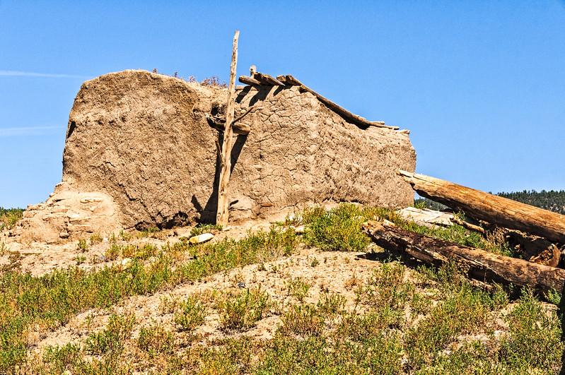 Hilltop Tower Kiva, Picuris Pueblo, New Mexico