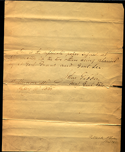 Latrobe Papers, box 3, Folder 2 (2 of 2)