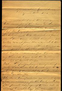 Latrobe Papers, Box 3, Folder 2 (1 of 2) - page 1