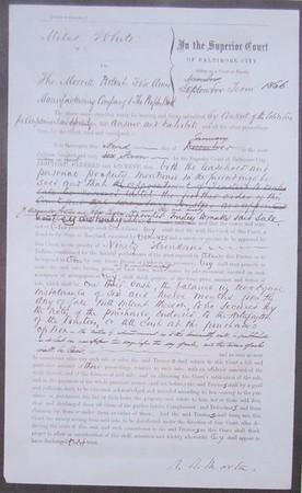 Baltimore City Superior Court Decree MPFMC Jan 2, 1867 (2)