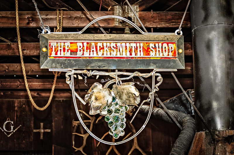 The Blacksmith Shop, E. Hudgins Street, Grapevine, Texas