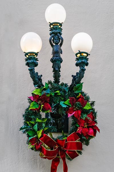 Christmas Decorations, Ca' d'Zan Mansion, Ringling Museum, Sarasota, Florida