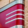 Art-deco facade, Former Woolworths Building, 24 West Campbell Street, Roanoke, VA