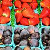 Vegetable Traders, Corner Market Building, Pike Place Market, Seattle, Washington