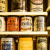 Oyster Cans, Chesapeake Bay Maritime Museum, St. Michaels, Maryland