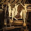 Drying Animal Hide in Barn, Philipsburg Manor, Sleepy Hollow, New York