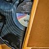 Mary Poppins original soundtrack record as artwork, Calre and Don's Beach Shack, Falls Church, Virginia