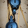 Pulley & Rope, Fort Pulaski National Monument, Cockspur Island, Savannah, Georgia