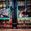 Railroad Baggage Carts, Western Maryland Scenic Railroad Depot, Cumberland, Maryland