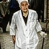 CN-XI-000094.tiff - Hui (Chinese Muslim) Woman Street Cleaner, Xi'an, China