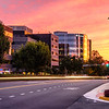 Tropical Storm Hermine Sunset, Westwood Center Drive, Tysons, Virginia