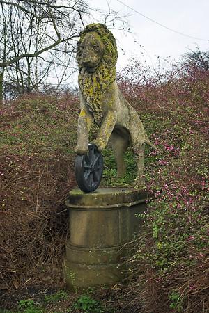 British Rail Statue, Stoke Mandeville 16/1/2006