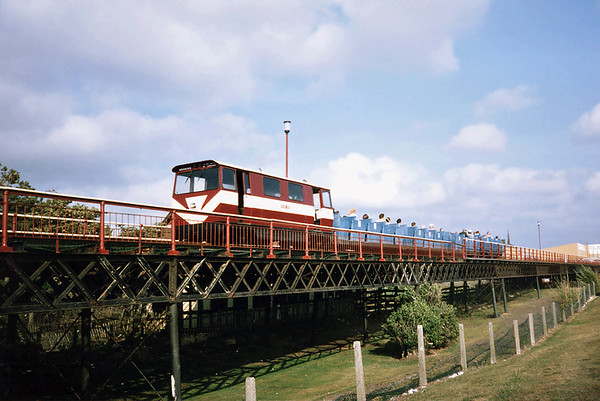 'English Rose', Southport Pier Railway 27/7/1991