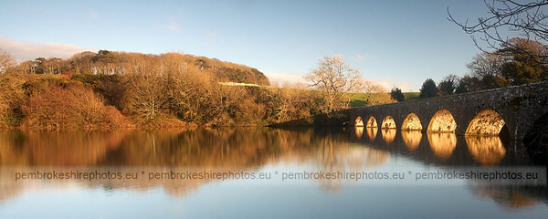 Eight Arch Bridge, Stackpole, Pembrokeshire