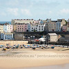 Tenby Harbour and North Beach.