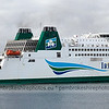Irish Ferries leaving  Pembroke Dock