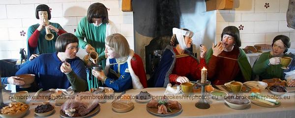 Banquet, Pembroke Castle