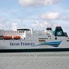 Irish Ferries arriving at Pembroke Dock