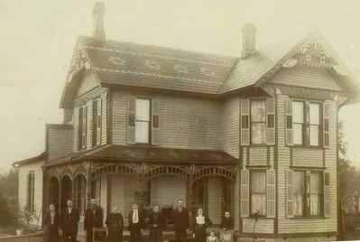 Home of Homer Franklin Rummel. Built by Homer Franklin Rummel. Convoy, OH.