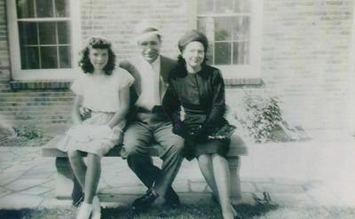 Betty Ann, Otis and Elizabeth Dull. Otis is the father of Floyd Dull.