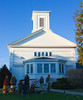 <center>United Congregational Church<br><br>Little Compton, Rhode Island<br><br>This is the United Congregational Church in Little Compton, Rhode Island. I was intrigued by the fascinating display of a Homeless Community in front of the church.</center>