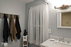 September 23, 2018:  Second floor bathroom after.  Towels now hang nice and neatly.