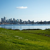 Nice day for a polarizing filter at Gasworks Park.