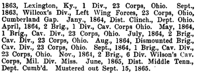 Indiana - 6th Cavalry (71st Vols) 2