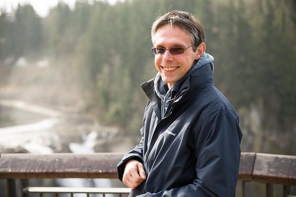 Richard Boston visiting Seattle - March 2015