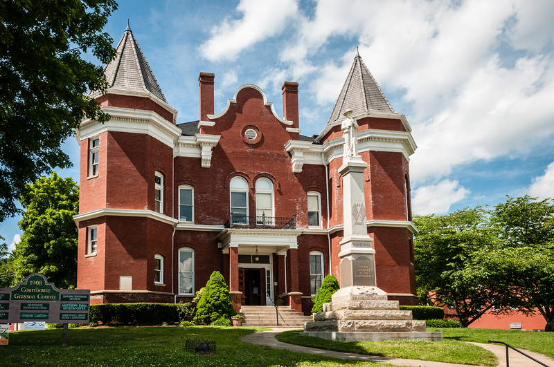 Historic Grayson County Courthouse, East Main Street, Independence, Virginia