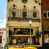 Yellow Mazda Miata outside Cuba Pete's Bar, Macado's Restaurant, 120 Church Avenue SW, Roanoke, VA