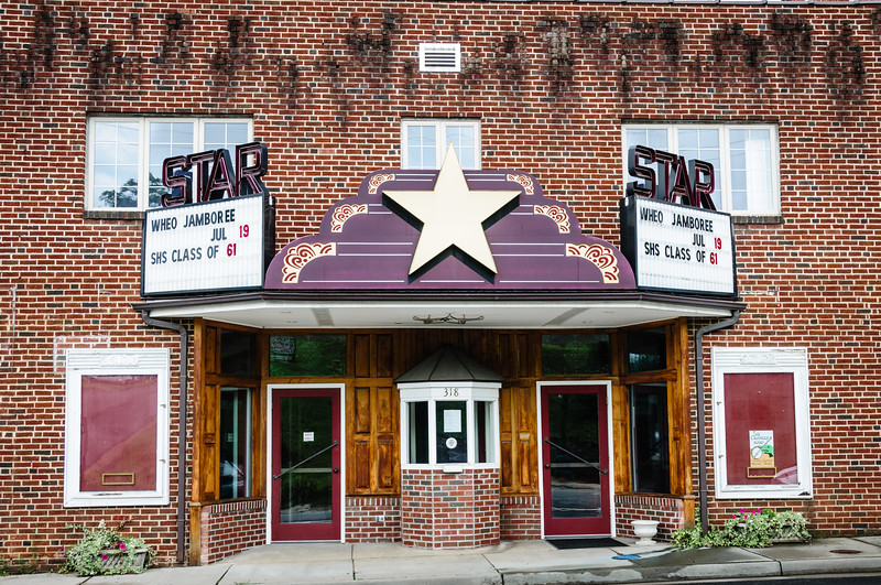 Historic Star Theater, 318 Patrick Avenue, Stuart, VA