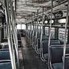 Interior of DC Transit Company PCC Streetcar, Virginia Museum of Transportation, Roanoke, VA