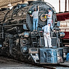 Norfolk & Western Class A #1218 2-6-6-4 Steam Locomotive, Virginia Museum of Transportation, Roanoke, Virginia